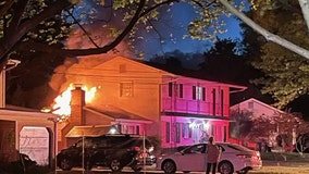 Downed power lines likely cause of house fire in Montgomery County