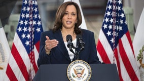 Kamala Harris pays tribute to vets after taking heat for earlier Memorial Day tweet