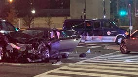 Bicyclist killed in DC crash involving at least 5 vehicles