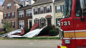No injuries after tin roof blown off home in Kentlands