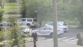 DC cop cars totaled after officers drag race in NE, says commander