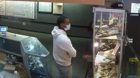 Video: Capitol ramming suspect caught on camera shopping for knife before attack
