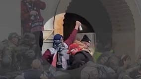 New Capitol riot video shows protester spraying police with unknown substance