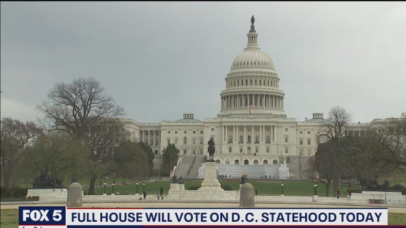 House to vote on DC statehood legislation