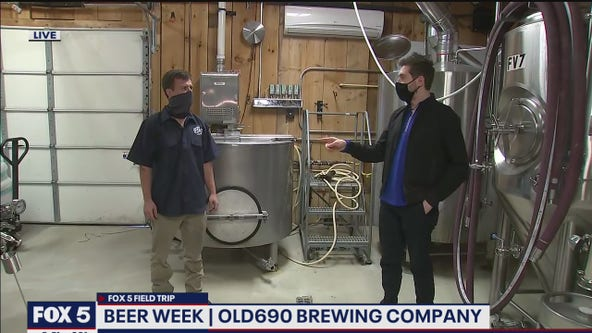 FOX 5 FIELD TRIP: Brews and fun at Old690 Brewing Company