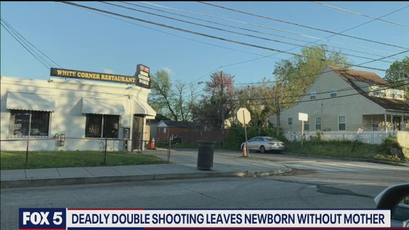 Police looking for gunman who killed pregnant woman in double shooting