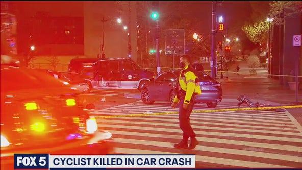 Bicyclist killed in crash on Massachusetts Avenue