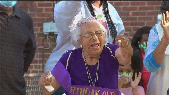 DC woman celebrates 103rd birthday; credits long life to love