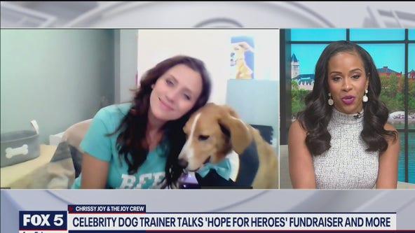 Celebrity dog trainer talks 'Hope For Heroes' fundraiser