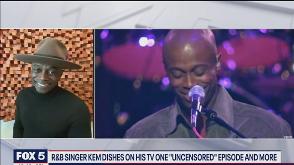 R&B singer Kem talks TV One Uncensored series and more