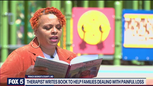 Prince Georges County therapist writes book to help families dealing with loss