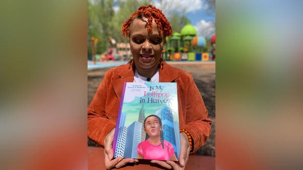 Prince George's County therapist uses book to help young people dealing with gun violence