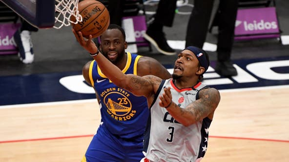 Bradley Beal paces Wizards past Warriors in first game with fans back in stands