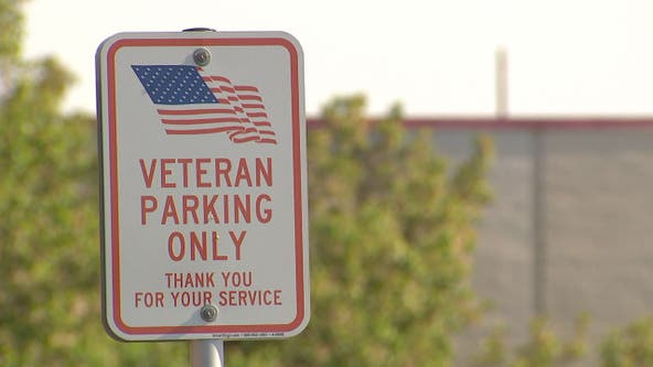 Female military members says service often overlooked at priority parking spaces for veterans