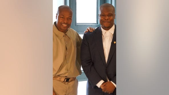 District man calls on President Biden to release his father from prison