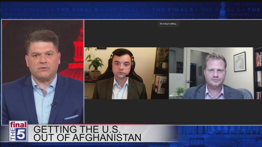 Looking at decision by President Biden to withdraw from Afghanistan