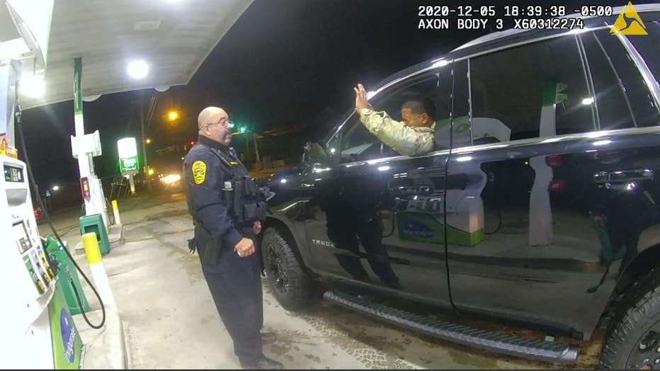 Windsor va police bodycam footage