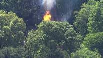 Pikesville gas explosion injures 3