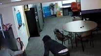 Montgomery County gunpoint robbery caught on camera