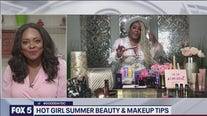 Celebrity make-up artist gives beauty tips for hot girl summer