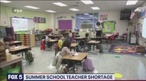 Summer school teacher shortage in Arlington