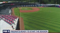 Fredericksburg Nationals play first home game in new stadium