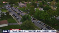 Suspect who reportedly shot 2 officers found dead