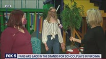 Audience back in the seats for school plays in Virginia