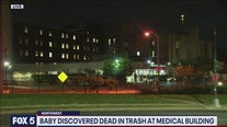 Baby found dead in trash at medical building in DC