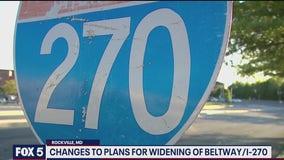Maryland Gov. Larry Hogan scaling back plans for Capital Beltway and I-270 widening
