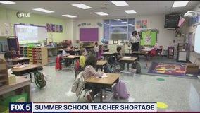 Summer school teacher shortage in Arlington