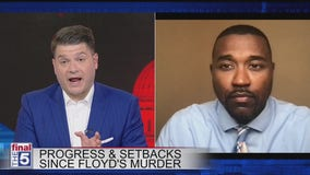 Progress and setbacks on the anniversary of the killing of George Floyd