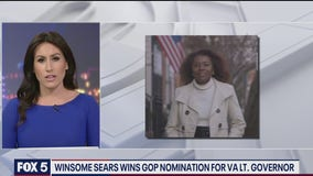 Winsome Sears wins Virginia GOP nom for Lieutenant Governor