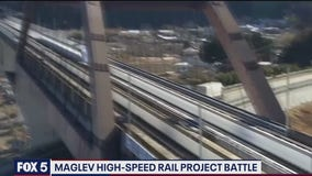 Maglev hits resistance in Prince Georges County