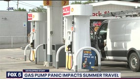 Gas prices rise as summer travel could be impacted by fuel shortage