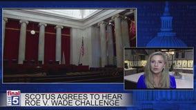 SCOTUS agrees to take up Roe v Wade challenge