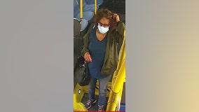 Woman's hair set ablaze on San Francisco Muni
