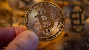 Bitcoin value cut in half as cryptocurrencies tumble in weekend slide
