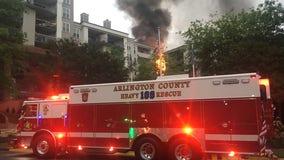 Dozens displaced after Arlington apartment complex fire