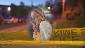 Family demands end to gun violence after 7-year-old girl shot in chest while playing in Northeast DC