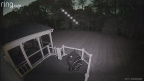 Mysterious row of orbs caught on homeowner's security camera in Prince George's County