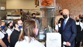 Biden marks Cinco de Mayo with visit to Northeast DC taqueria