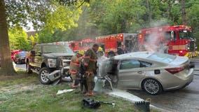 2 killed in fiery Aspen Hill crash