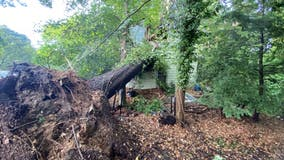 Severe storms sweep through DC region