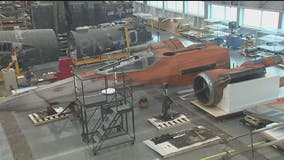 Star Wars X-Wing on long-term loan to Smithsonian's National Air and Space Museum