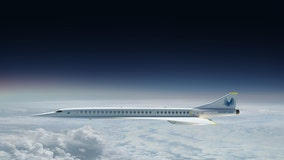 """Boom Supersonic aircraft aims to fly """"at speeds twice as fast"""" as today's passenger airplanes"""