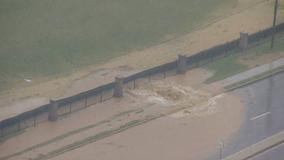 Water shut down after massive water-main break on Rockville Pike