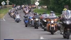 Rolling to Remember military tribute still revving despite rainy Memorial Day weekend