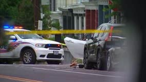 16-year-old killed in Northwest DC double shooting, crash