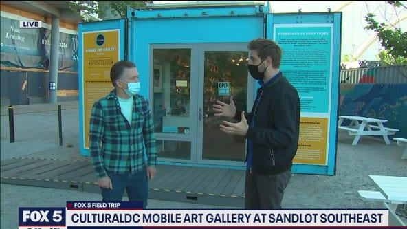 FOX 5 FIELD TRIP: CulturalDC Mobile Art Gallery at Sandlot Southeast